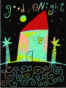 "Judy Stead illustration ""Good Night"""